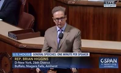 Congressman Higgins on the House floor