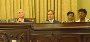 Congressman Brian Higgins in Committee